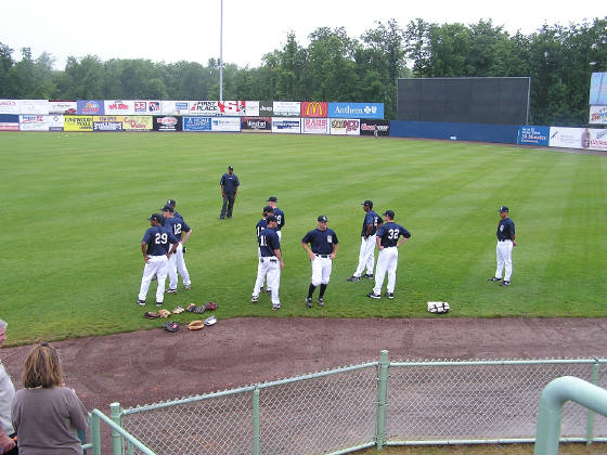 Eastwood Field - Pre-Game Warm Ups