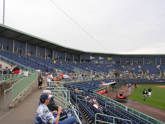 Eastwood Field - From Right Field